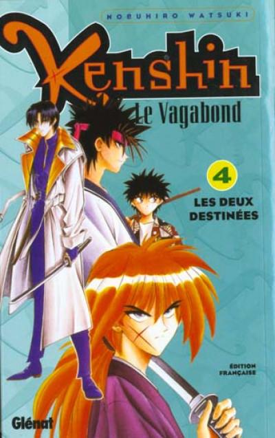Couverture kenshin le vagabond tome 4 - les deux destinées