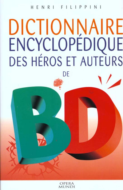 Couverture dictionnaire des héros et auteurs de bd tome 3