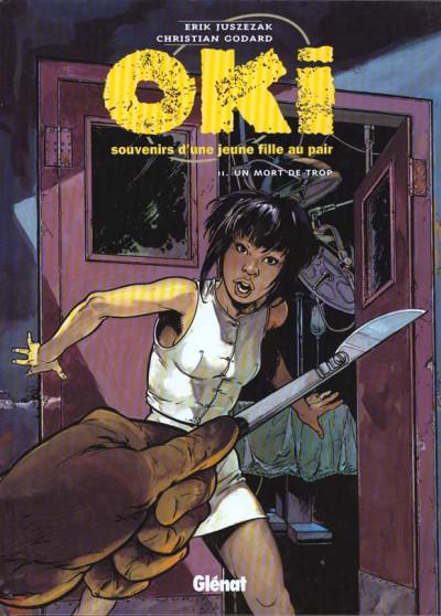 Couverture Oki tome 2 - un mort de trop