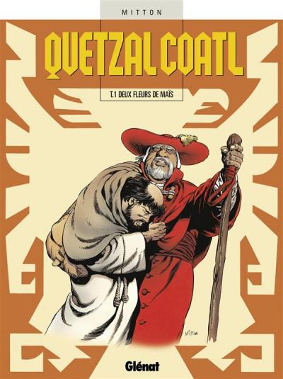 Couverture quetzalcoatl tome 1 - deux fleurs de maïs