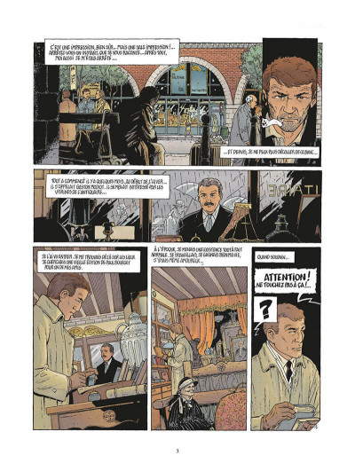 Page 6 ombres tome 3 - le sablier 1