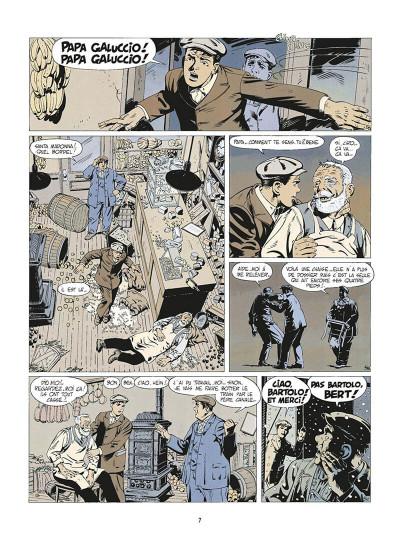 Page 0 de silence et de sang tome 2 - mulberry street