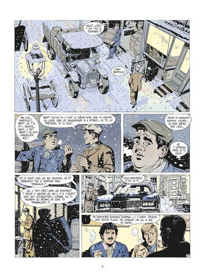 Page 7 de silence et de sang tome 2 - mulberry street