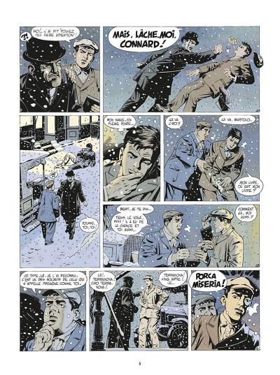 Page 9 de silence et de sang tome 2 - mulberry street