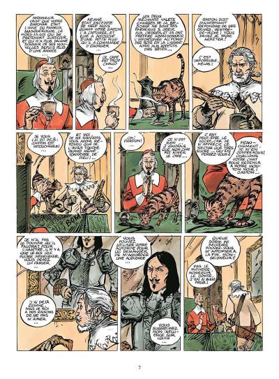 Page 0 coeur brulé tome 7 - le comte de saint germain