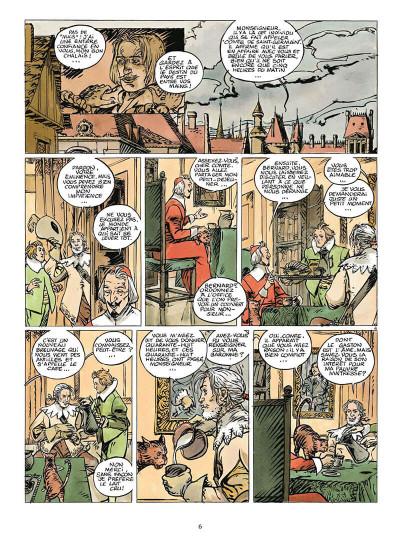 Page 9 coeur brulé tome 7 - le comte de saint germain