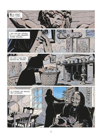 Page 6 de silence et de sang tome 1 - la nuit du tueur de loups