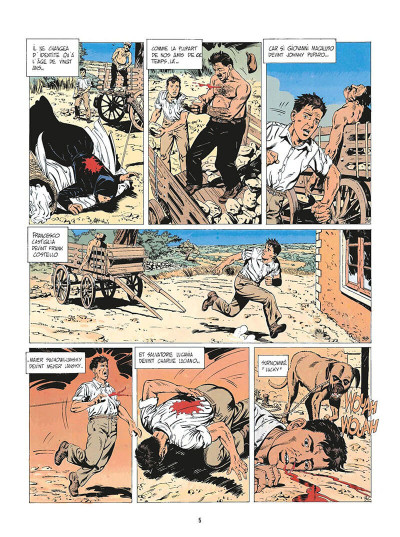 Page 8 de silence et de sang tome 1 - la nuit du tueur de loups