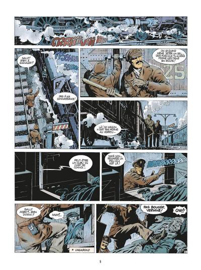 Page 8 de silence et de sang tome 5 - les sept pilliers du chaos