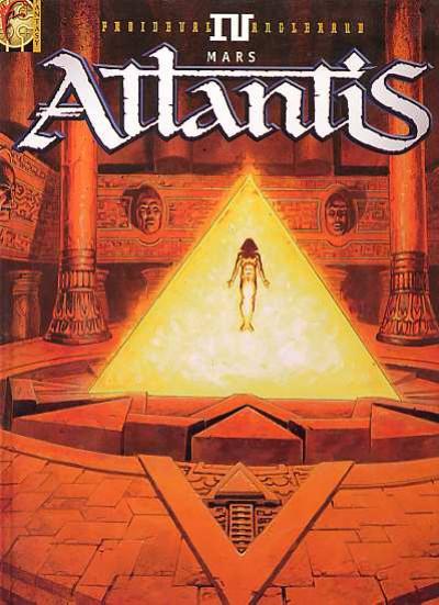Couverture atlantis tome 4 - mars