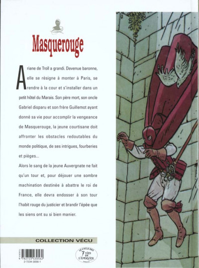 Dos masquerouge tome 4 - les intrigants
