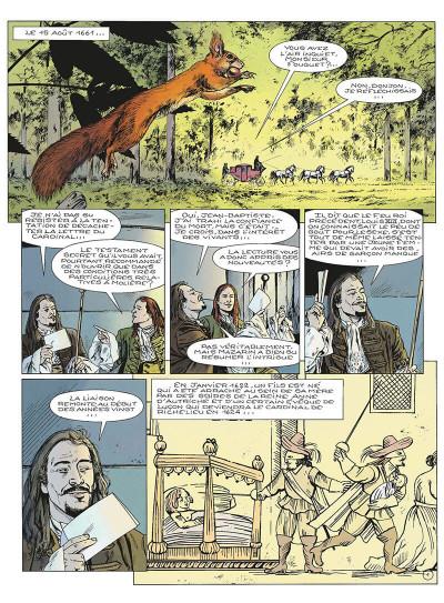 Page 4 le masque de fer tome 6 - le roi des comédiens