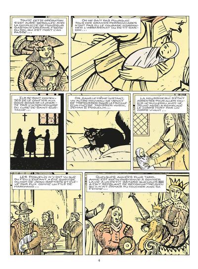 Page 5 le masque de fer tome 6 - le roi des comédiens