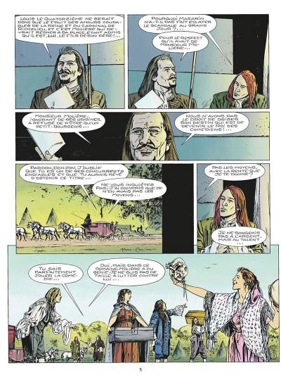 Page 6 le masque de fer tome 6 - le roi des comédiens