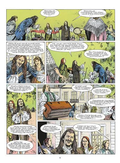 Page 7 le masque de fer tome 6 - le roi des comédiens