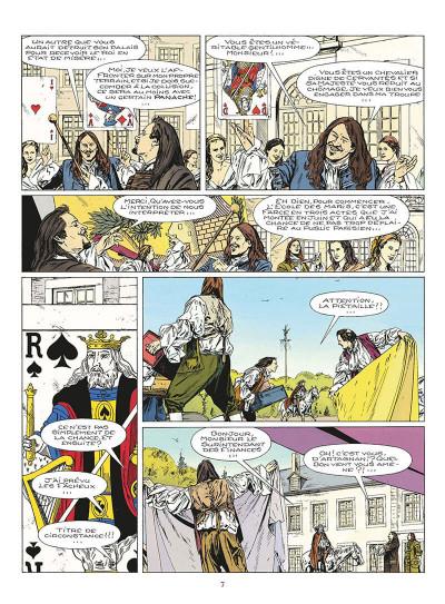 Page 8 le masque de fer tome 6 - le roi des comédiens
