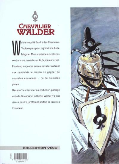 Dos chevalier walder tome 4 - le chevalier au corbeau