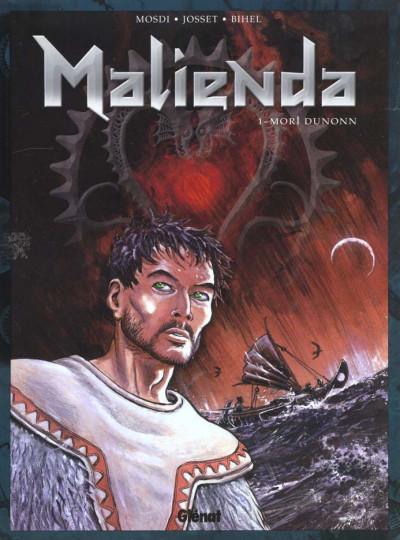 Couverture Malienda tome 1 - mori-dunonn