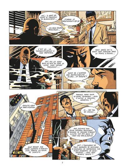 Page 0 de silence et de sang tome 13 - le système jurado