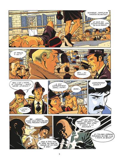 Page 8 de silence et de sang tome 13 - le système jurado