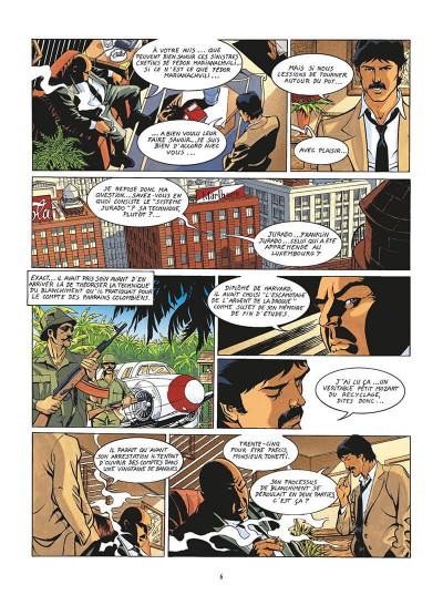 Page 9 de silence et de sang tome 13 - le système jurado