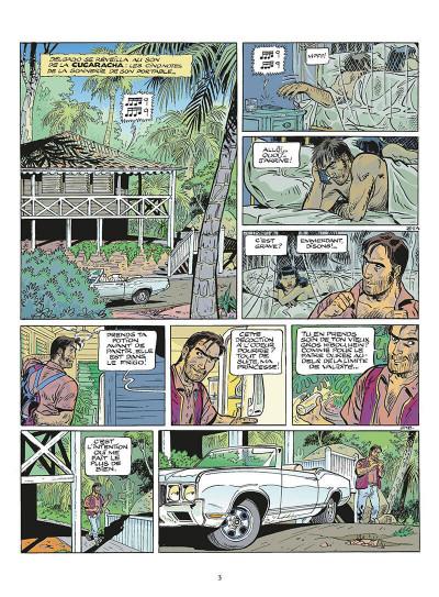 Page 4 zambada tome 1 - les vagues de la mer