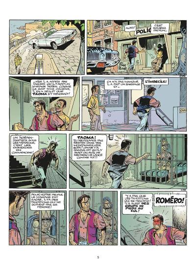 Page 6 zambada tome 1 - les vagues de la mer