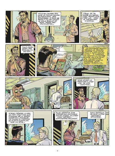Page 8 zambada tome 1 - les vagues de la mer