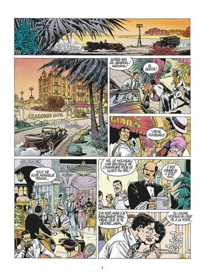 Page 7 de silence et de sang tome 7 - la dixième arcane majeure