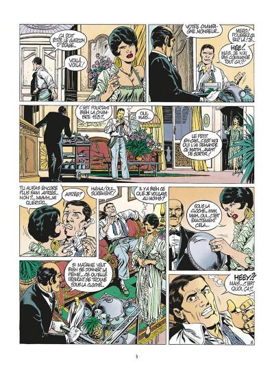 Page 8 de silence et de sang tome 7 - la dixième arcane majeure