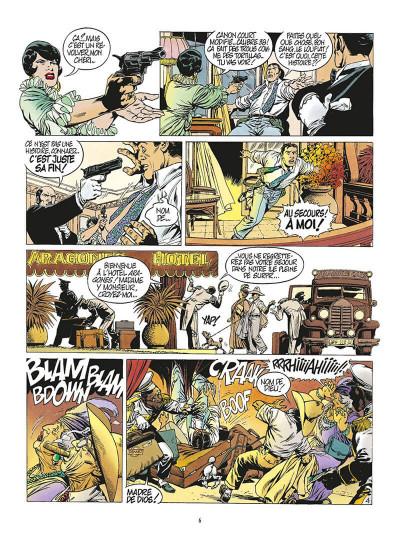Page 9 de silence et de sang tome 7 - la dixième arcane majeure