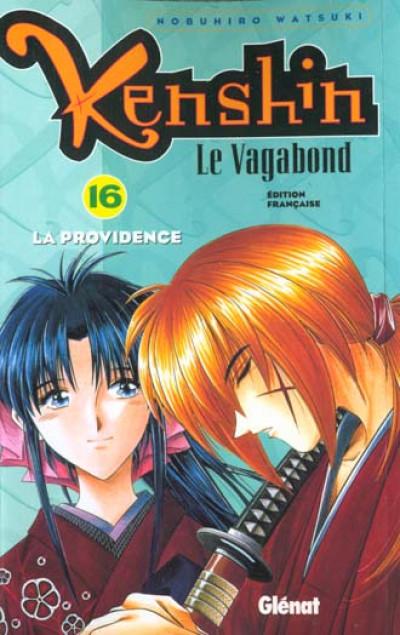 Couverture kenshin le vagabond tome 16 - la providence
