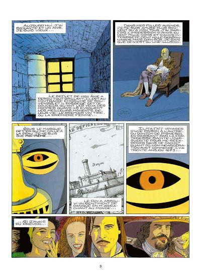 Page 6 le masque de fer tome 3 - blanches colombes (cartonné)