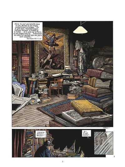 Page 5 les derniers jours de la géhenne tome 1 - queribus