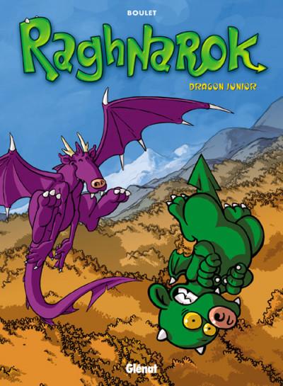 Couverture raghnarok tome 1 - dragon junior