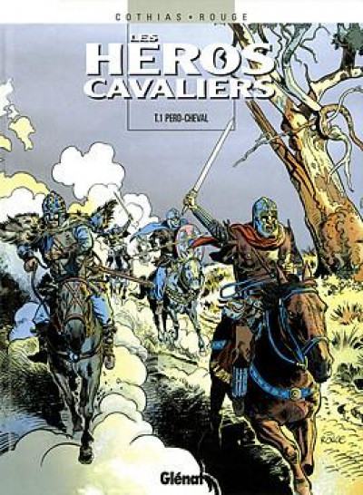 Couverture les heros cavaliers - tome 01 - perd-cheval