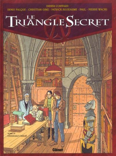 image de Le triangle secret tome 4 - l'évangile oublié