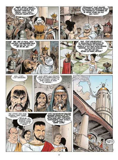 Page 9 attila mon amour tome 4 - le fléau de dieu