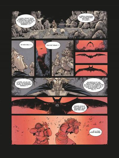 Page 0 le roman de malemort tome 3 - le don du sang