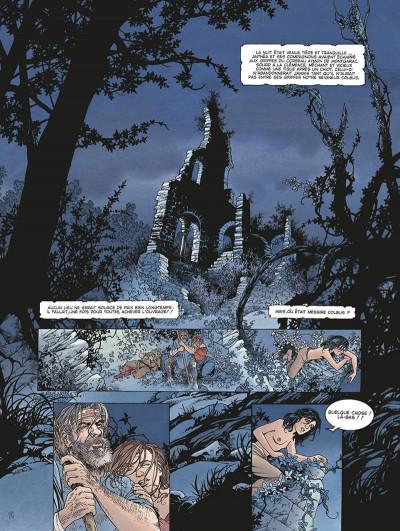 Page 4 le roman de malemort tome 3 - le don du sang