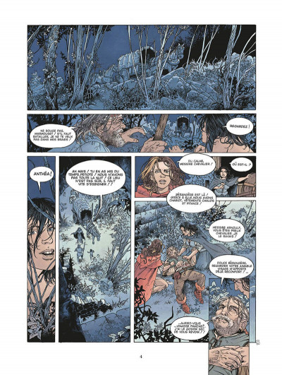 Page 5 le roman de malemort tome 3 - le don du sang