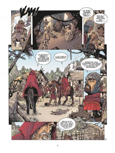 Page 6 le roman de malemort tome 3 - le don du sang