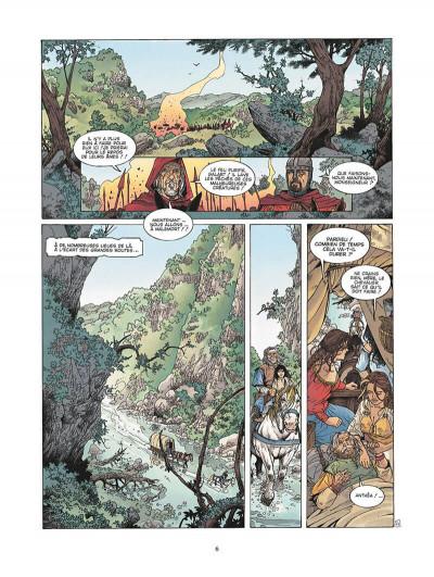 Page 7 le roman de malemort tome 3 - le don du sang