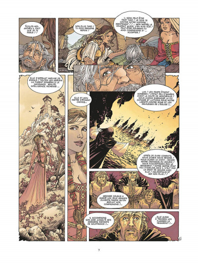 Page 8 le roman de malemort tome 3 - le don du sang