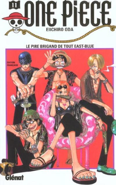 Couverture one piece tome 11 - le pire brigand de tout east-blue