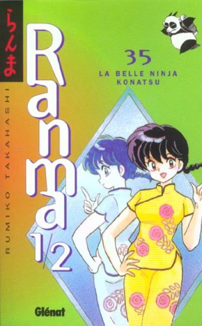Couverture ranma 1/2 tome 35 - la belle ninja konatsu