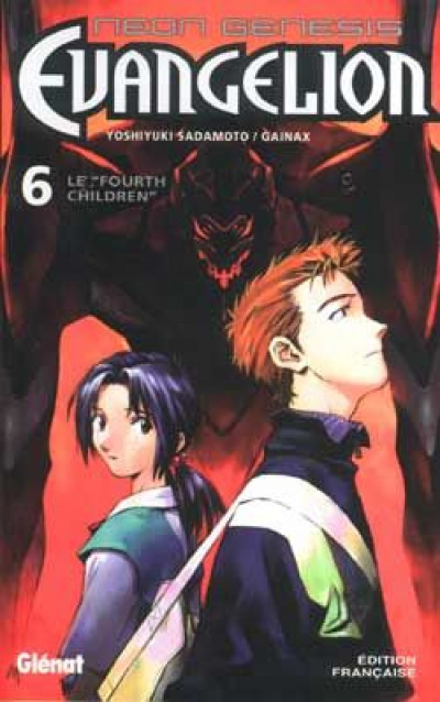 Couverture neon-genesis evangelion tome 6 - le fourth children