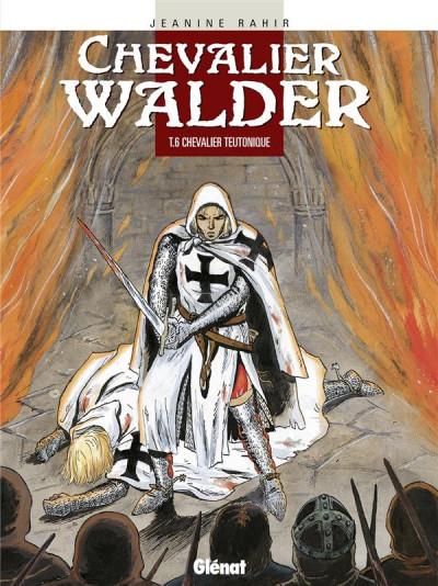 Couverture chevalier walder tome 6 - chevalier teutonique