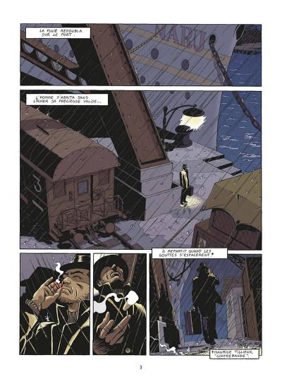 Page 6 de silence et de sang tome 14 - chi non muere si revede