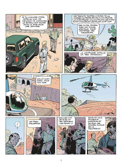 Page 8 zambada tome 2 - la maison de l'ange